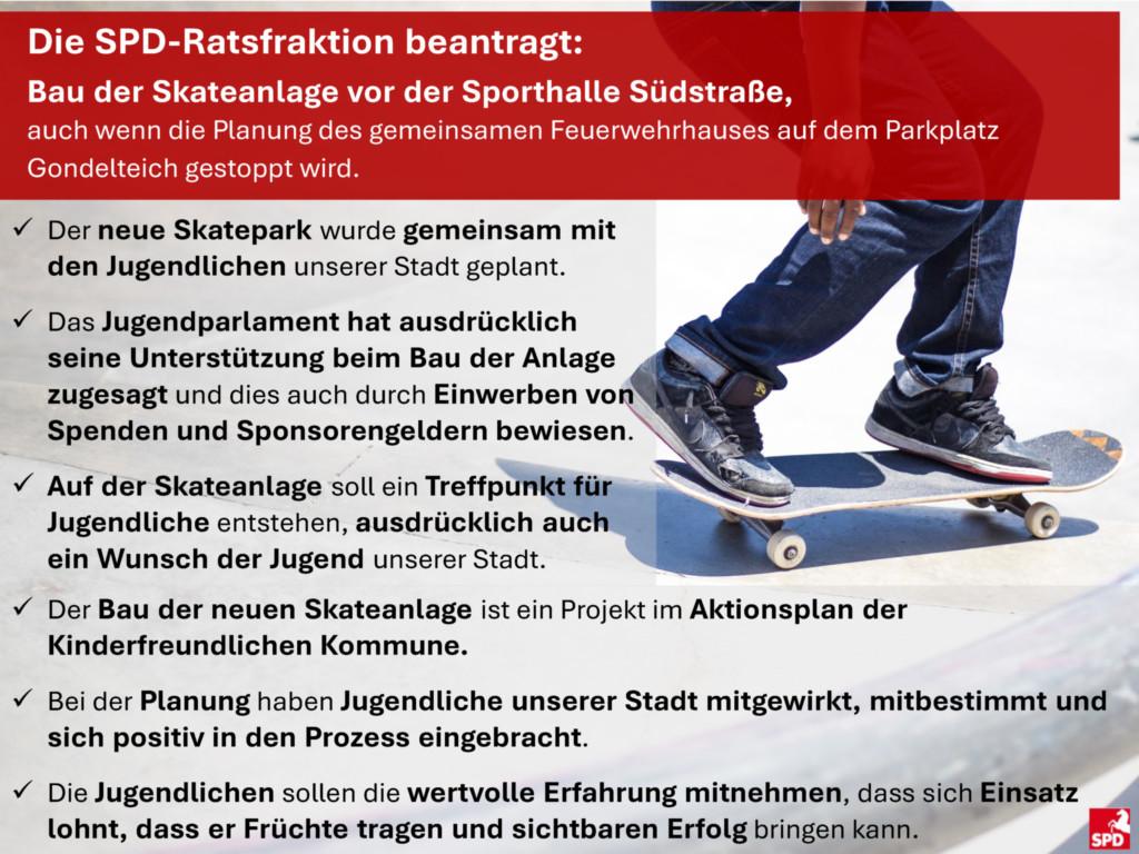 Skateanlage